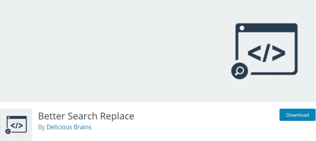 Better Search Replace WordPress Plugin